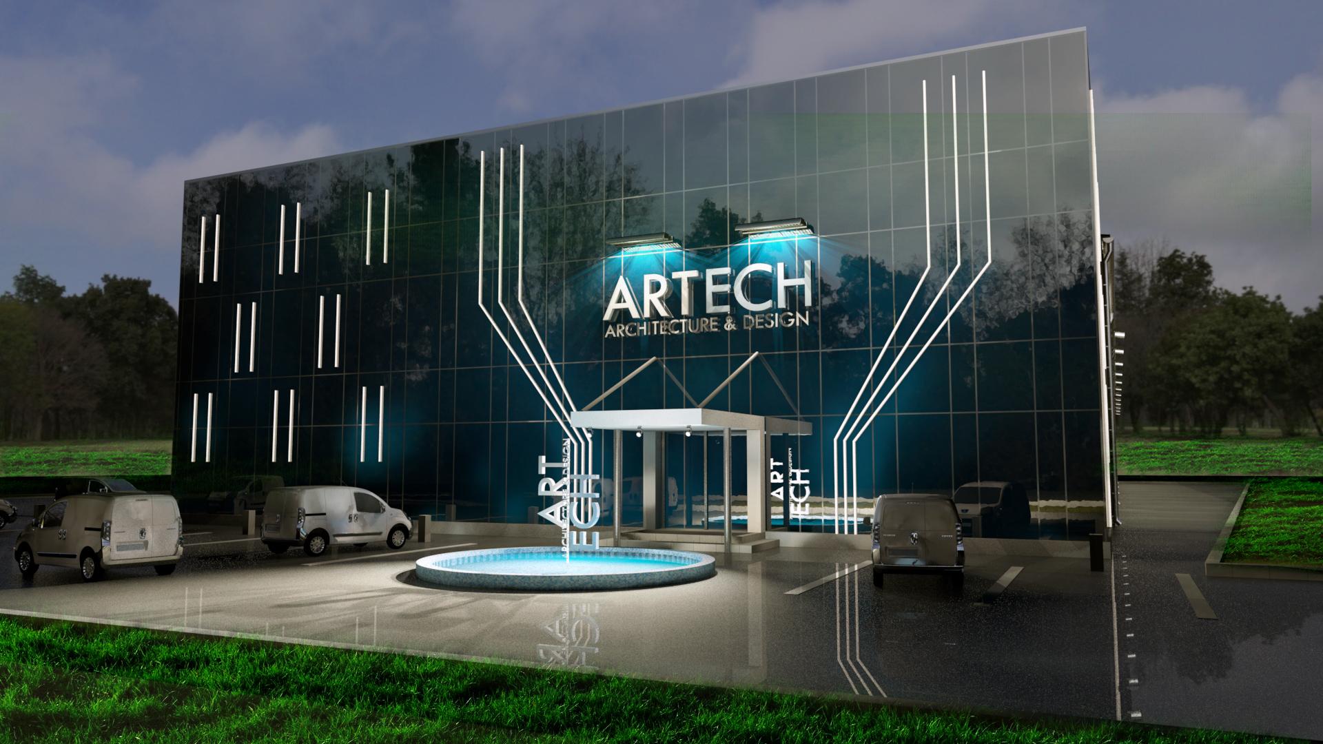 """Artech"", Mostar, ArchViz, modeling and rendering by Bojan Manojlović, VIZUAL S"